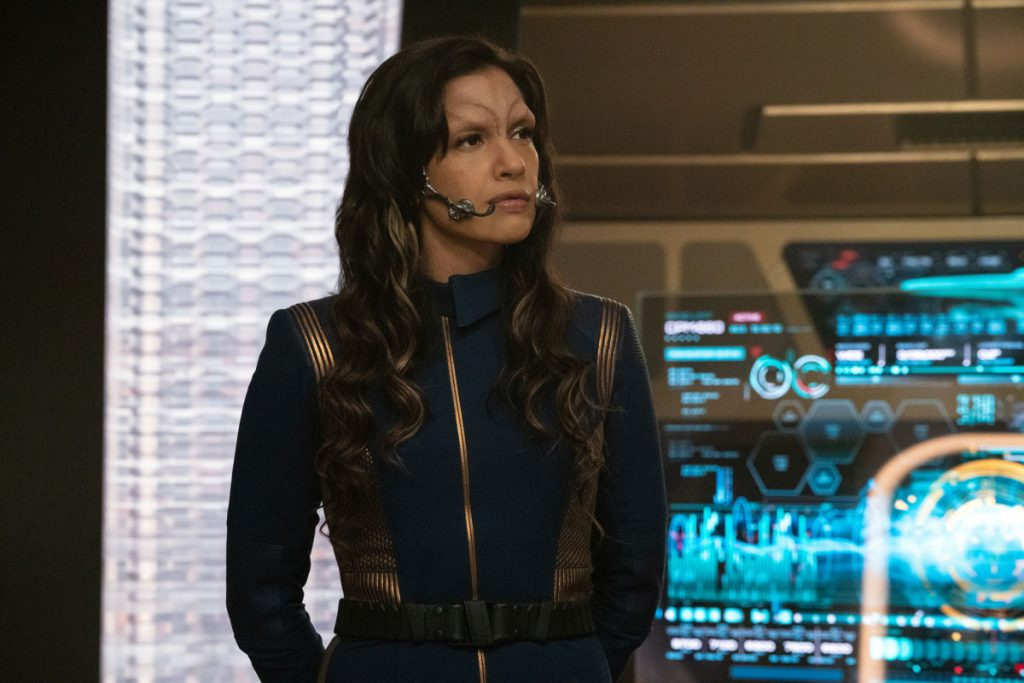 Rachael Ancheril as Commander Nhan