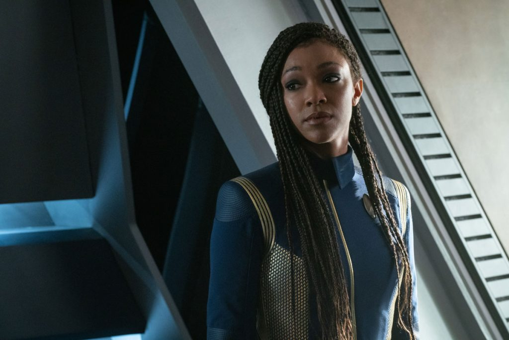 Sonequa Martin-Green as Burnham