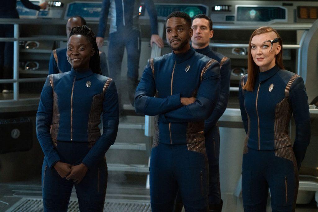 Oyin Oladejo as Lt. Joann Owosekun, Ronnie Rowe Jr. as Lt. Bryce and Emily Coutts as Lt. Keyla Detmer