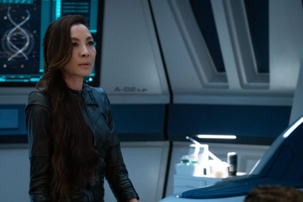 Michelle Yeoh as Capt. Georgiou