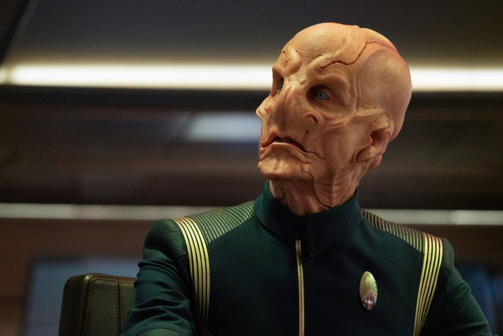 Doug Jones as Capt. Saru