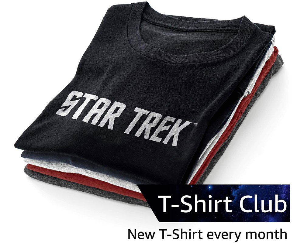 Star Trek T-Shirt Club Subscription