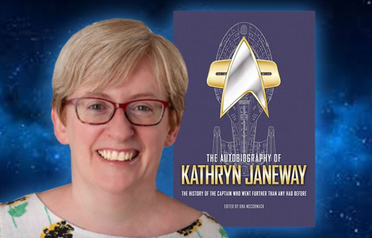Author Una McCormack Talks Janeway Autobiography, What Star Trek Means To Her