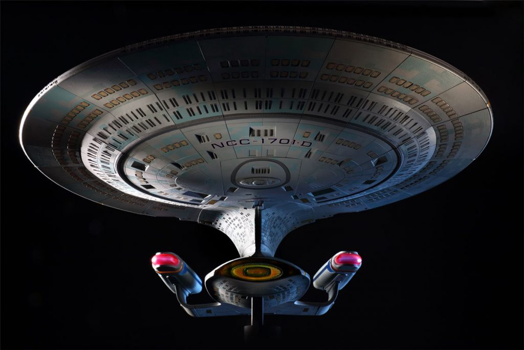 Build the Star Trek U.S.S Enterprise-D