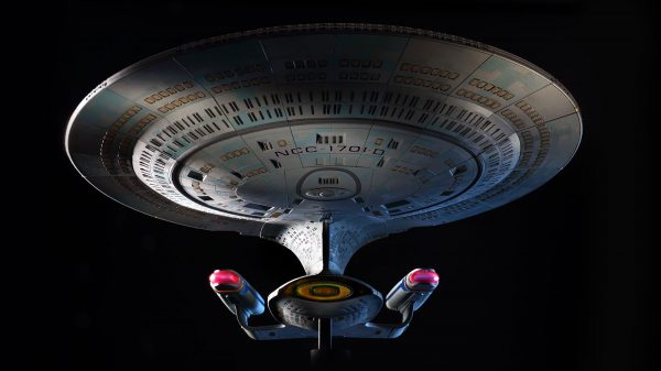 Build Your Own Two-Foot Enterprise-D With Hero Collector's New Star Trek Subscription