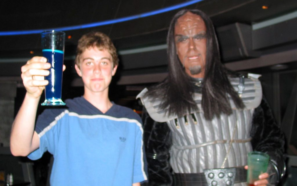 Noah Averbach-Katz at Star Trek: The Experience