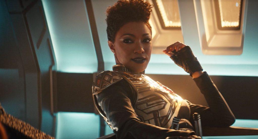 "Sonequa Martin-Green as ""Mirror Universe"" Burnham"