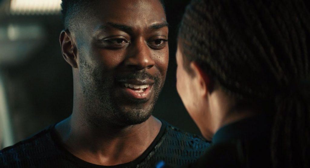David Ajala as Book and Sonequa Martin-Green as Burnham