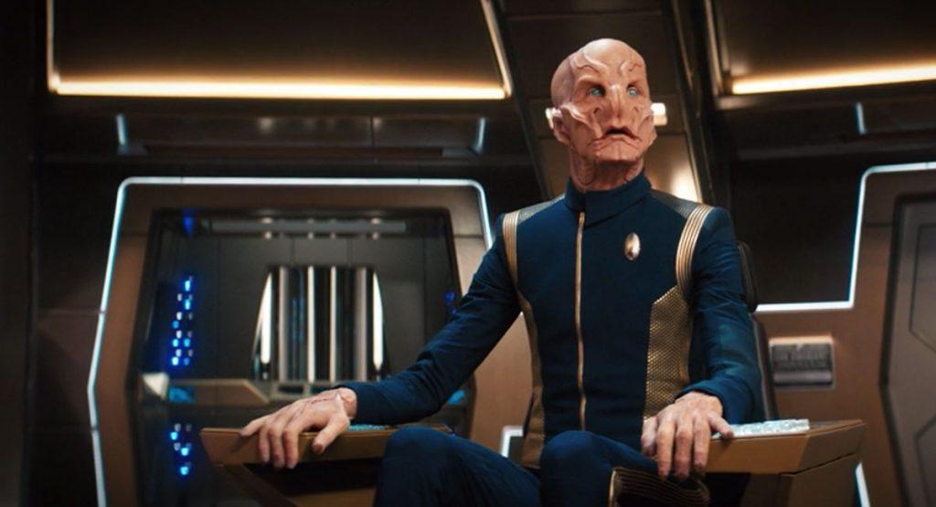 Doug Jones as Captain Saru