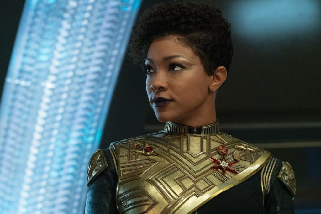 Sonequa Martin-Green as Commander Burnham