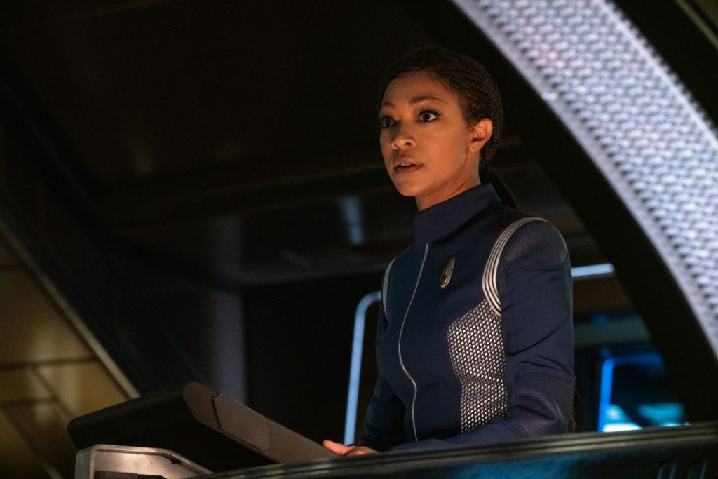 Sonequa Martin-Green as Commander Burnham