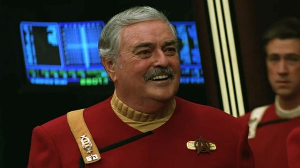 Ashes Of James Doohan, Star Trek's Scotty, Were Smuggled Aboard The International Space Station 12 Years Ago