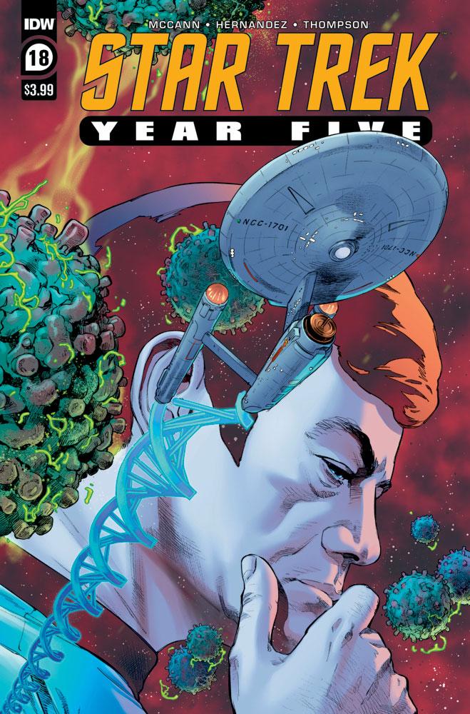 Star Trek: Year Five # 18 cover art