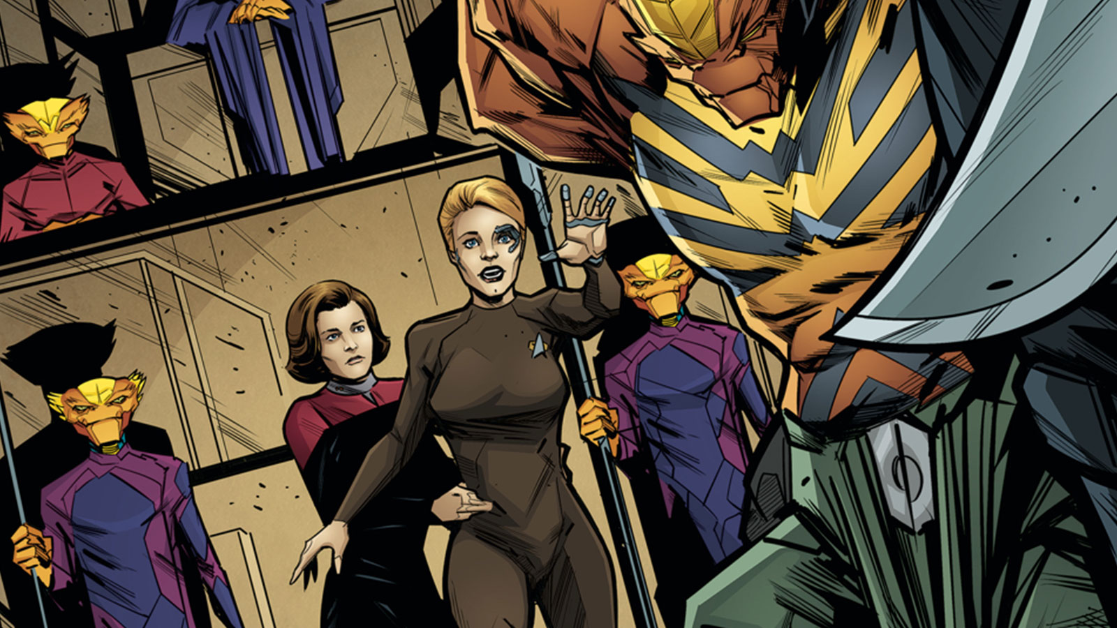 Seven's Reckoning Issue 4 Review: The Star Trek: Voyager Miniseries Culminates In Epic Fashion