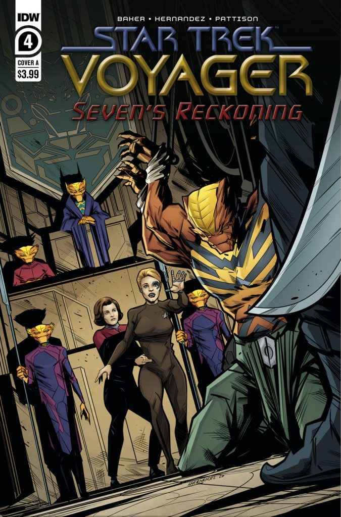 Seven's Reckoning Regular Cover by Angel Hernandez & Ronda Pattinson