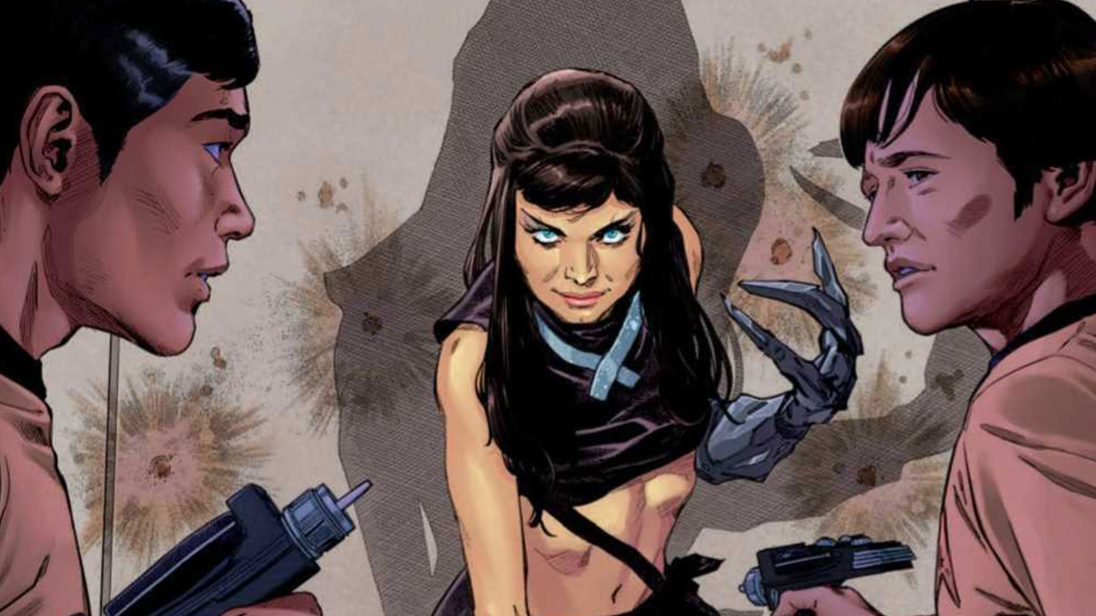 Star Trek: Year Five #19 Review: A Pandemic And Isis Torment The Enterprise