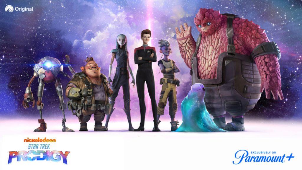 Star Trek: Prodigy bridge crew