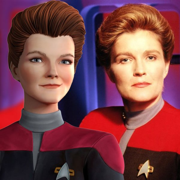 First Look At Captain Janeway In Star Trek: Prodigy