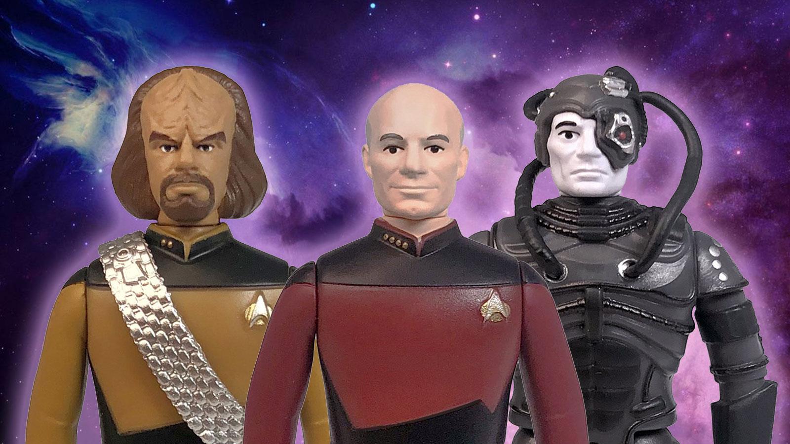 Star Trek: The Next Generation ReAction Figures Beaming Down In June