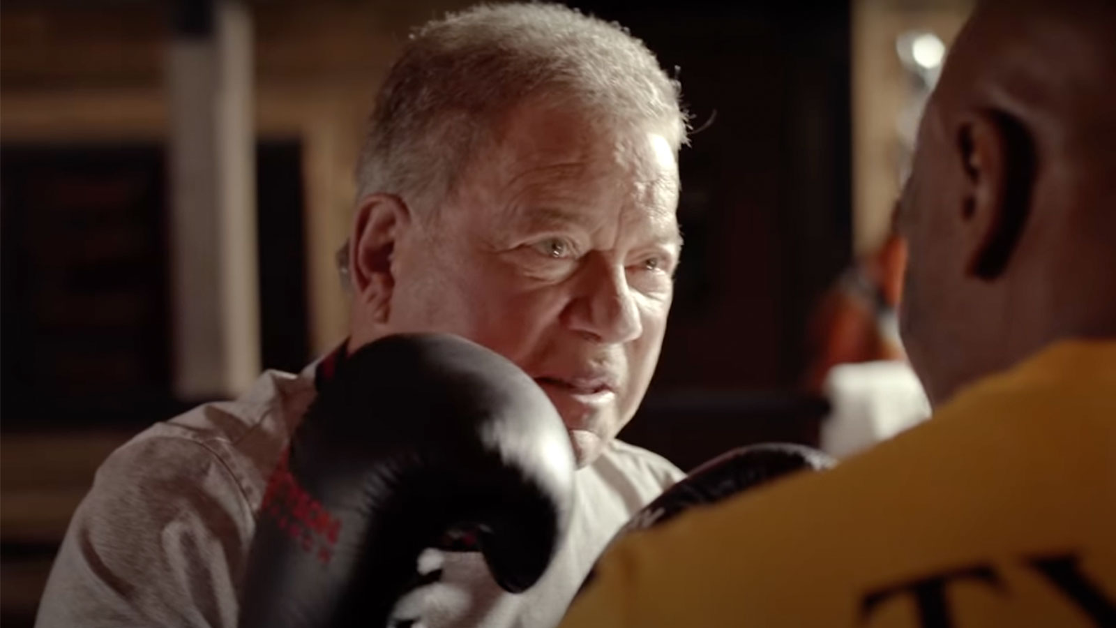 William Shatner Takes A Punch From Mike Tyson... In New Commercial