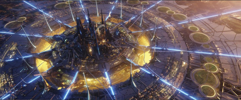 Environmental coverage from Star Trek: Prodigy