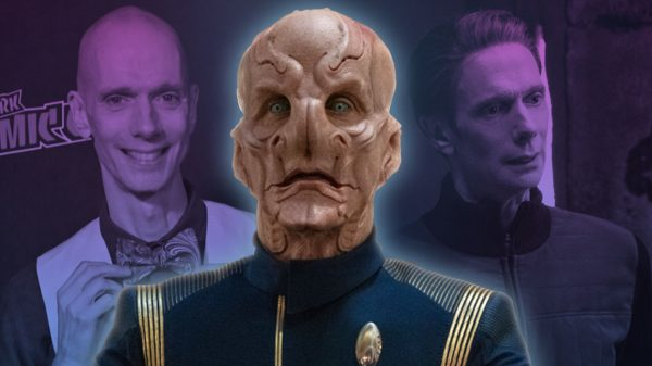Exclusive: Doug Jones Talks Pleasures, Challenges Of Playing Saru, And What He'd Make Gene Roddenberry For Dinner