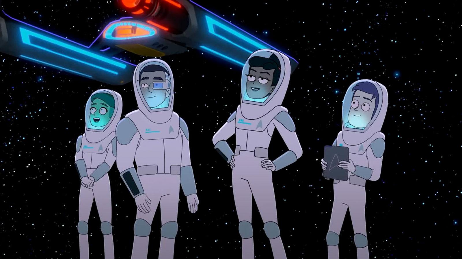 'Star Trek: Lower Decks' Comic-Con Panel Debuts Trailer, Returning 'Voyager' Character