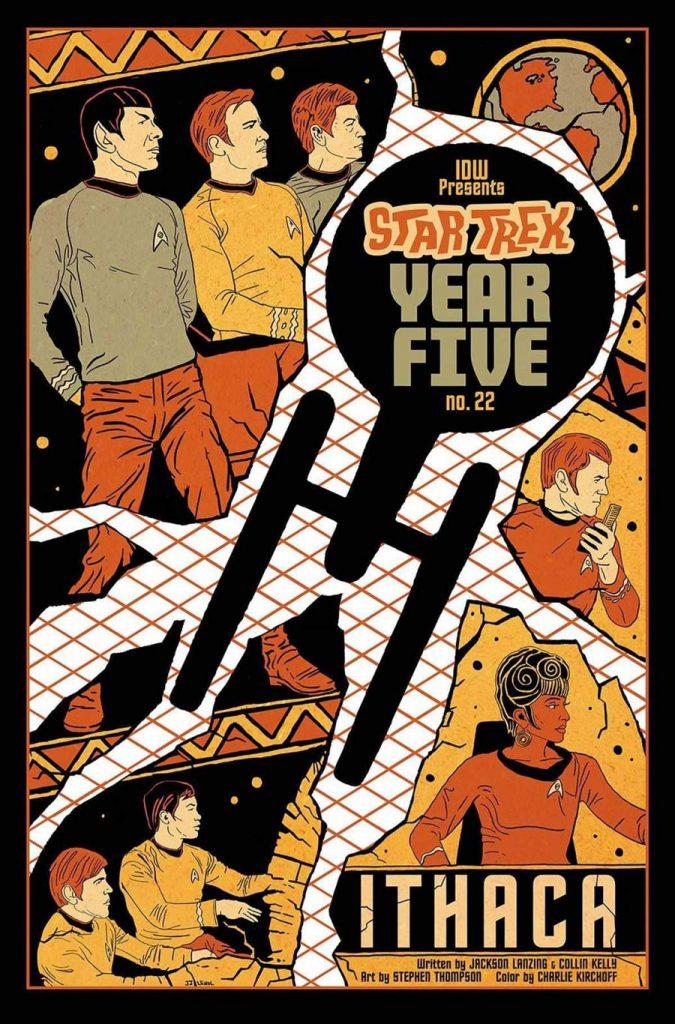 STAR TREK: YEAR FIVE #22 Variant Cover by JJ Lendl