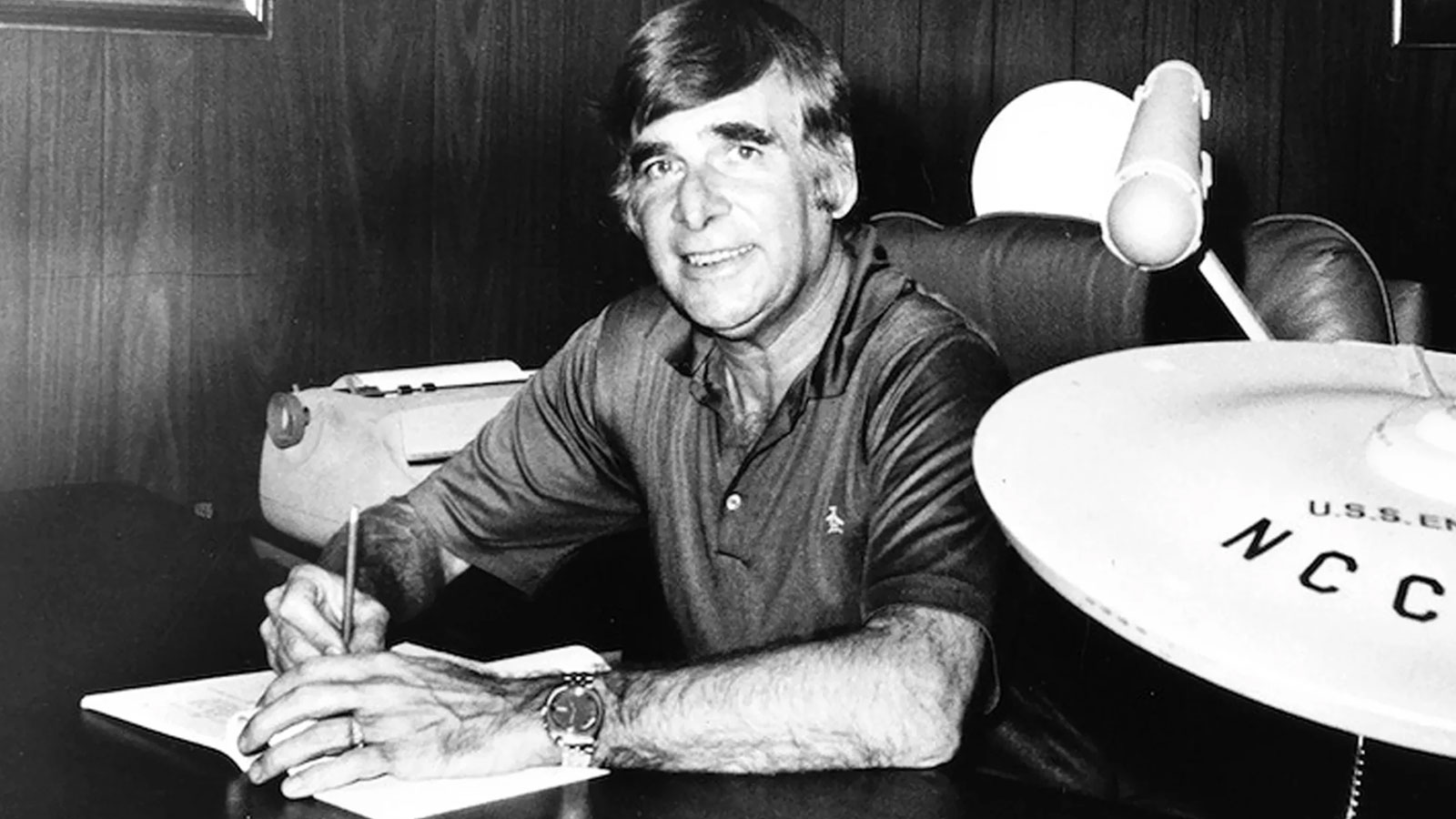 Gene Roddenberry's Life's Work To Be Digitized In Massive Preservation Project