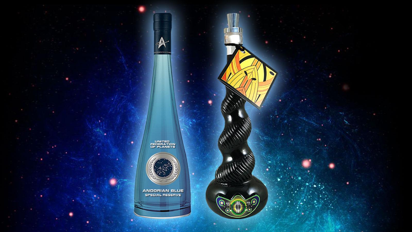 Star Trek Wines Announces Andorian Blue Chardonnay And Cardassian Kanar, Shipping In November