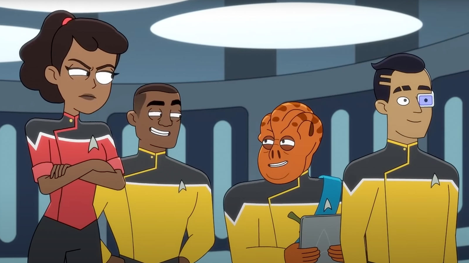 "New Images From Star Trek: Lower Decks Season 2 Episode 2 ""Kayshon, His Eyes Open"""