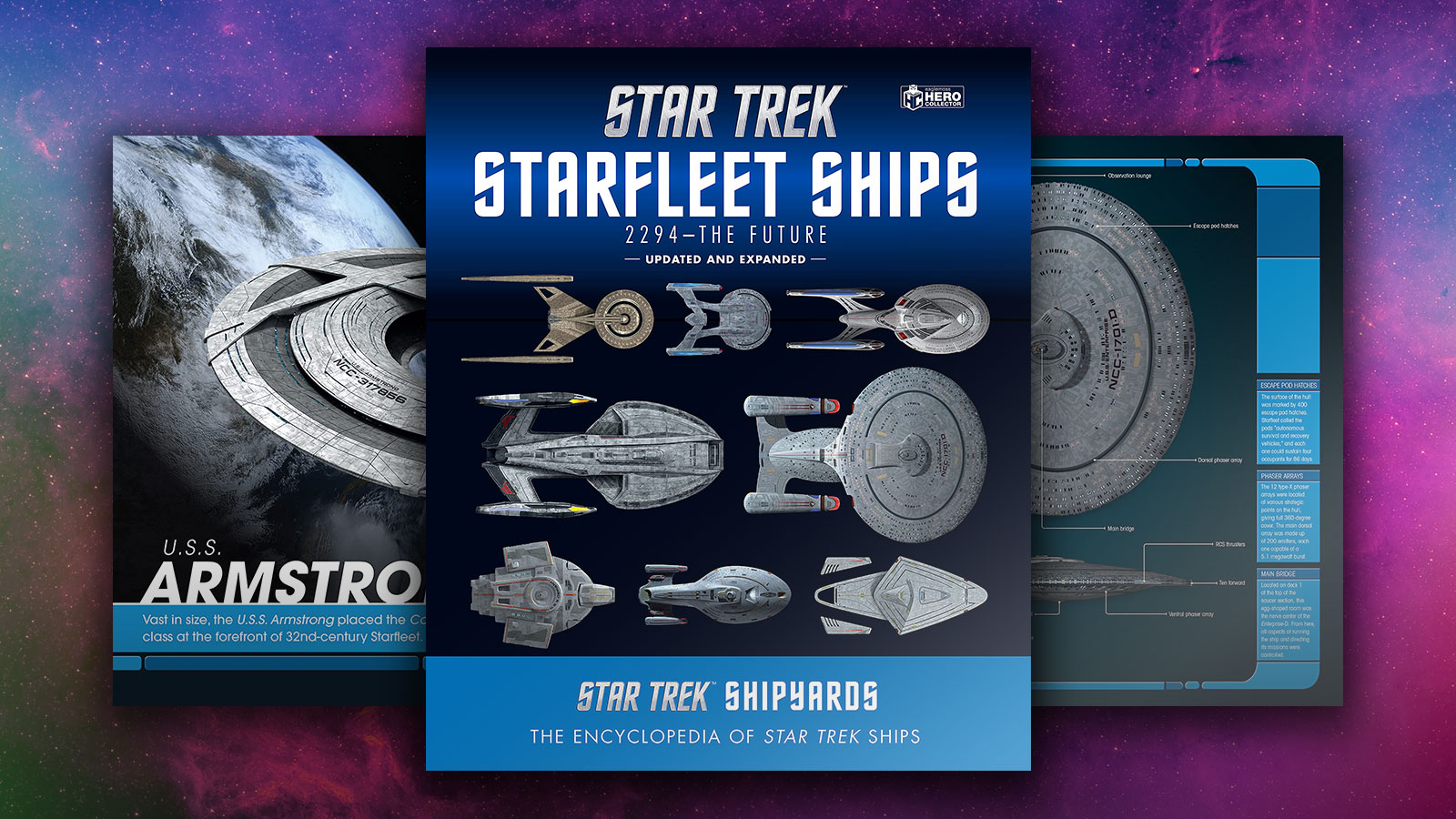 Star Trek Shipyards Starfleet Starships: 2294 To The Future Review: Newly Expanded Edition Adds Ships From 'Discovery' And 'Picard'