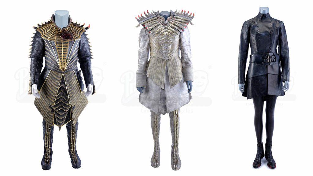 T'Kuvma's (Chris Obi) Battle at the Binary Stars Costume, L'Rell's (Mary Chieffo) Hero Ensemble, Philippa Georgiou's (Michelle Yeoh) Section 31 Uniform