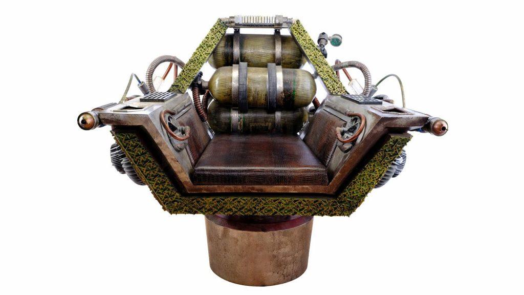 Tevrin Krit's (Harry Judge) Captain's Chair