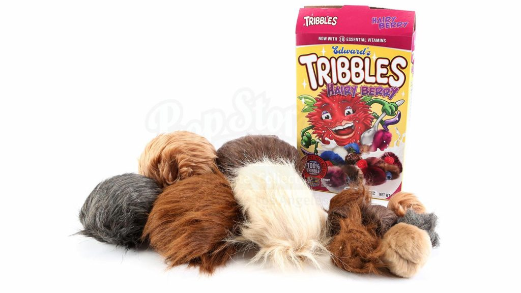 """""""Hairy Berry"""" Cereal Box with Tribbles"""