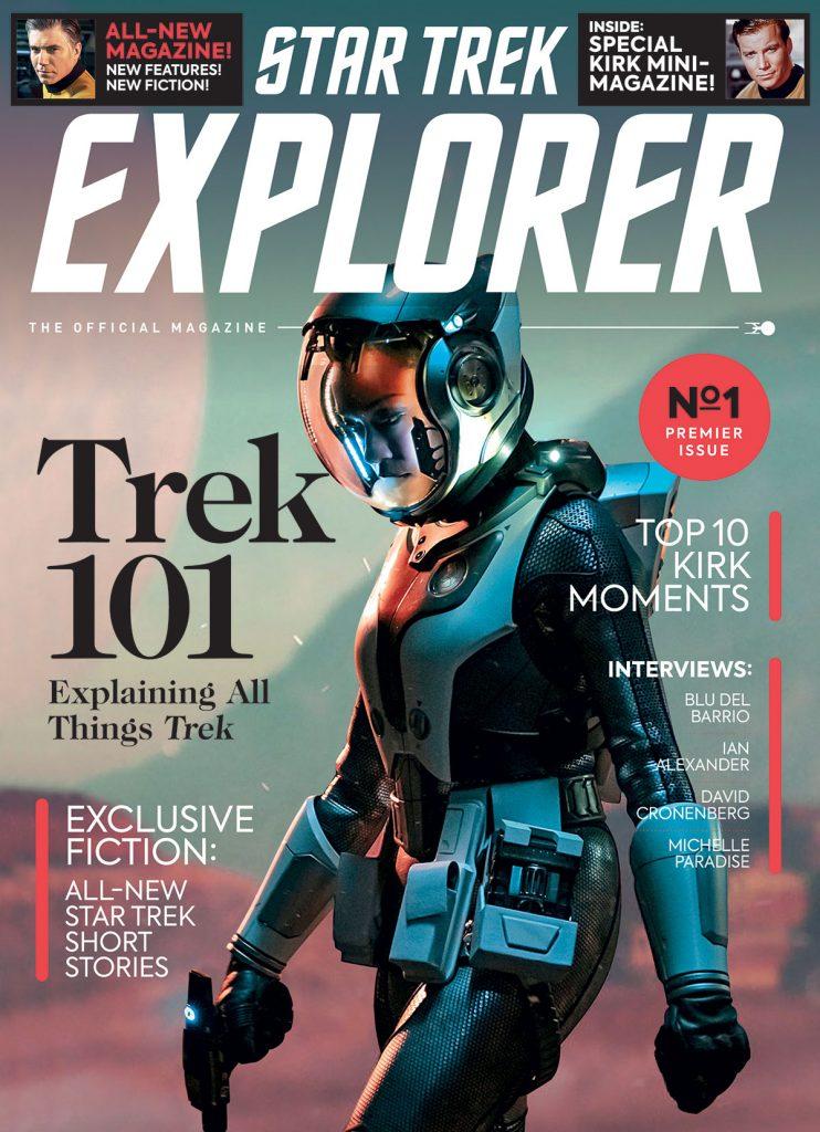 Cover of Star Trek Explorer issue 1