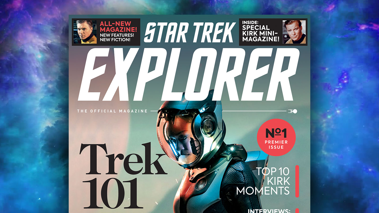 The Official Star Trek Magazine Gets A New Name & Updated Look