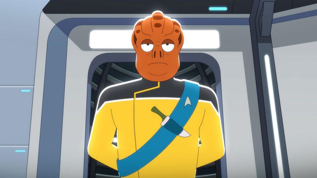 Carl Tart as Lieutenant Kayshon