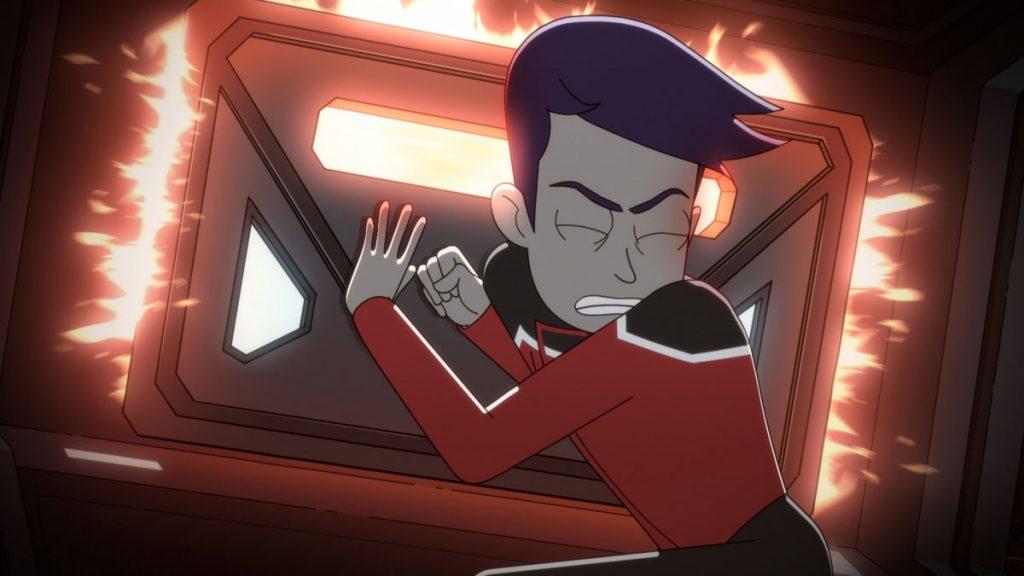 Jack Quaid as Ensign Brad Boimler