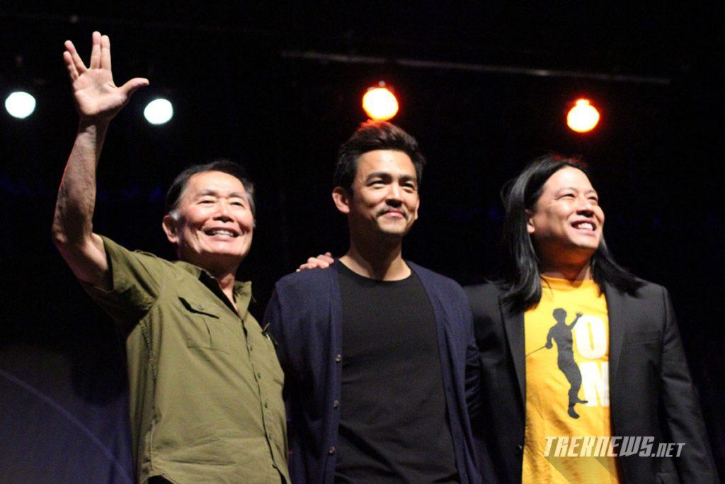 George Takei, John Cho and Garrett Wang