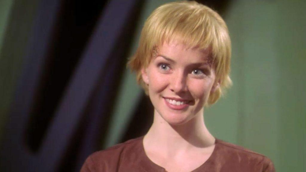 Wersching as Liana on Star Trek: Enterprise
