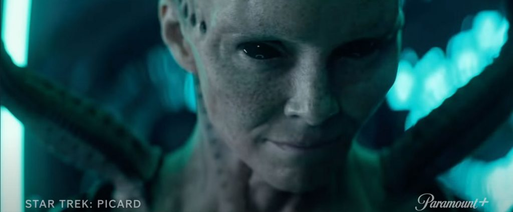 Annie Wersching as the Borg Queen