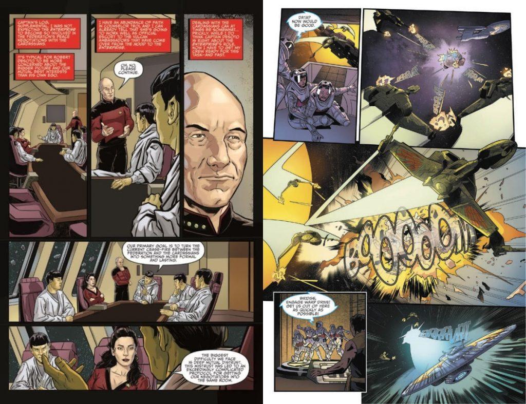 Art from STAR TREK: MIRROR WAR #0