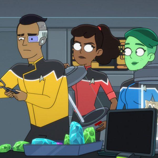 "New Images From Star Trek: Lower Decks Season 2 Episode 6 ""The Spy Humongous"""