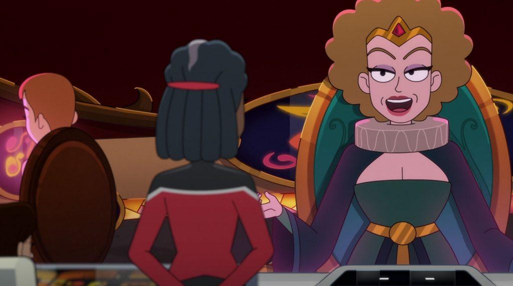 June Diane Raphael as Queen Billlups
