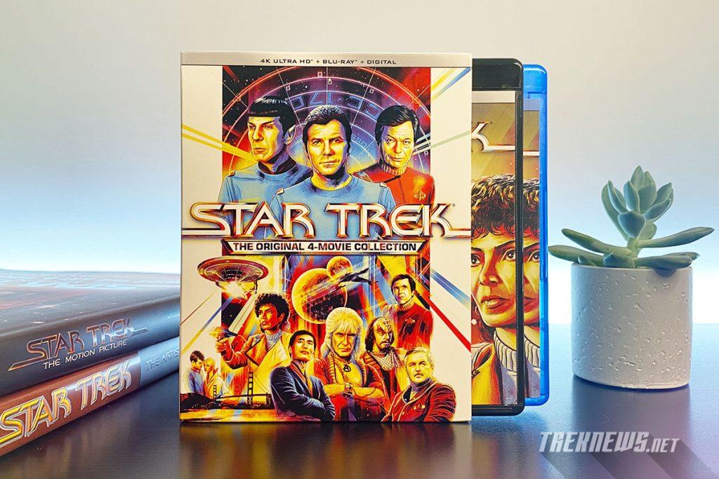 Star Trek: The Original 4-Movie Collection packaging