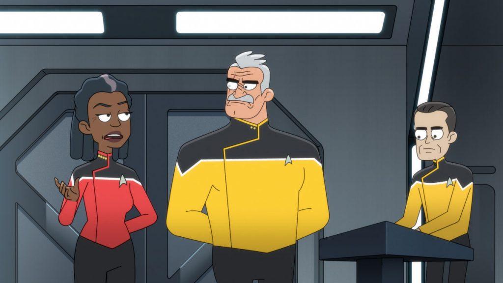 Commander, Dawnn Lewis as Captain Carol Freeman and Fred Tatasciore as Lieutenant Shaxs