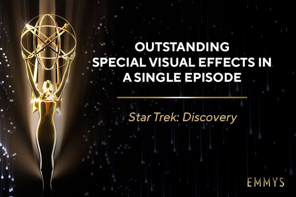 Star Trek: Discovery Emmy Award announcement