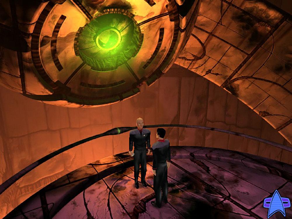 Screenshot from 1999's Star Trek: Hidden Evil