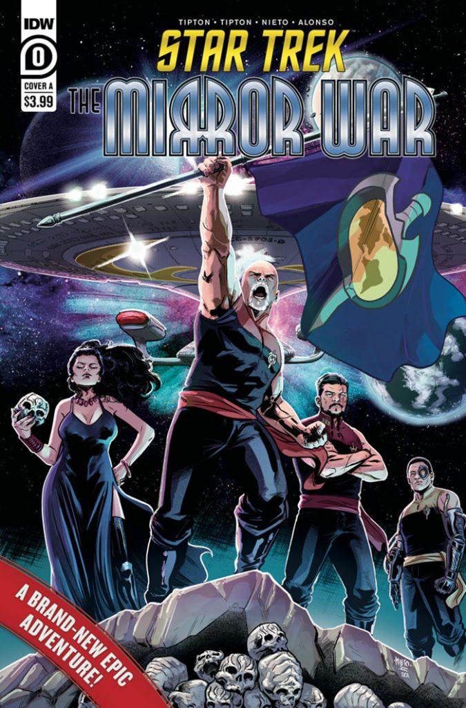 STAR TREK: MIRROR WAR #0 regular cover by Carlos Nieto